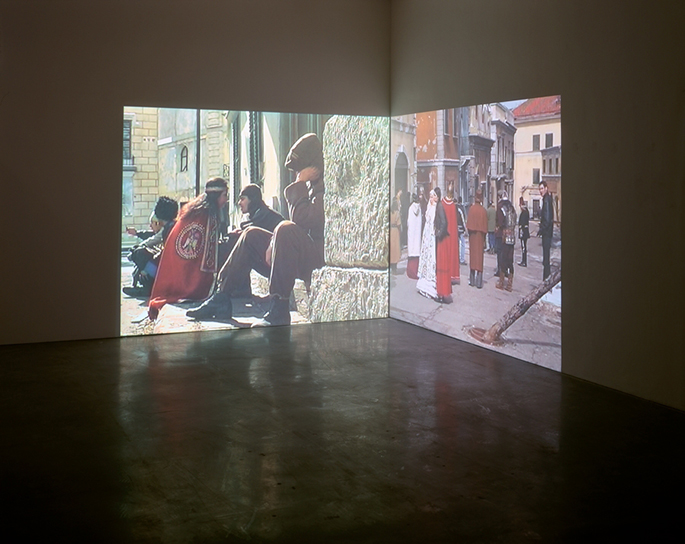 A Movie (2004) installation view, Generali Foundation